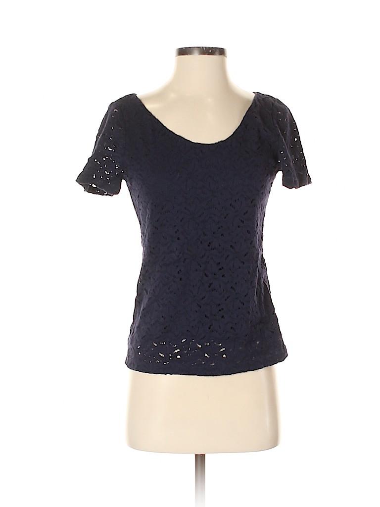 Banana Republic Women Short Sleeve Blouse Size XS