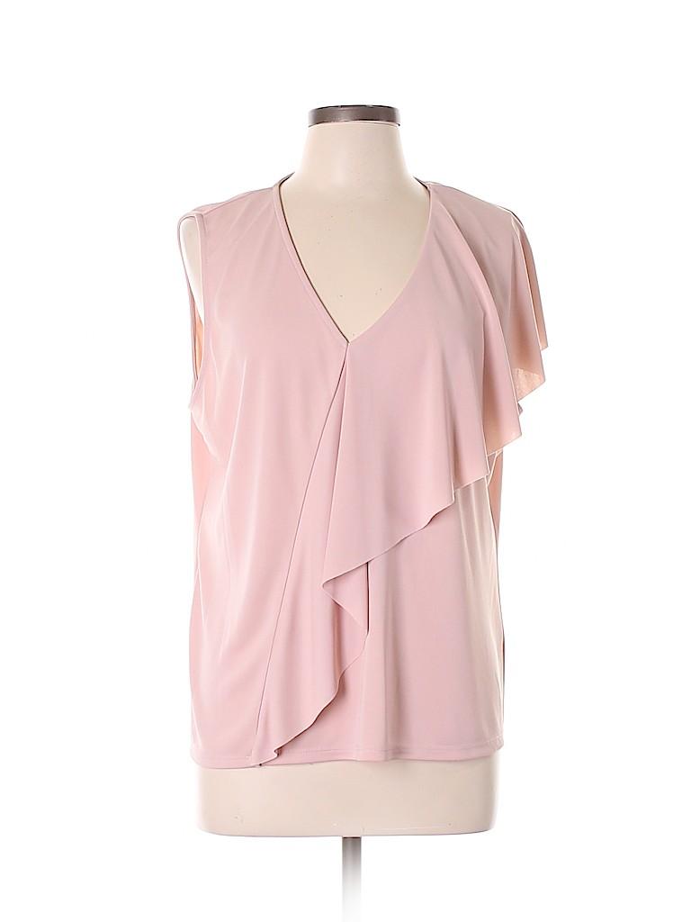 Vince Camuto Women Sleeveless Blouse Size XL