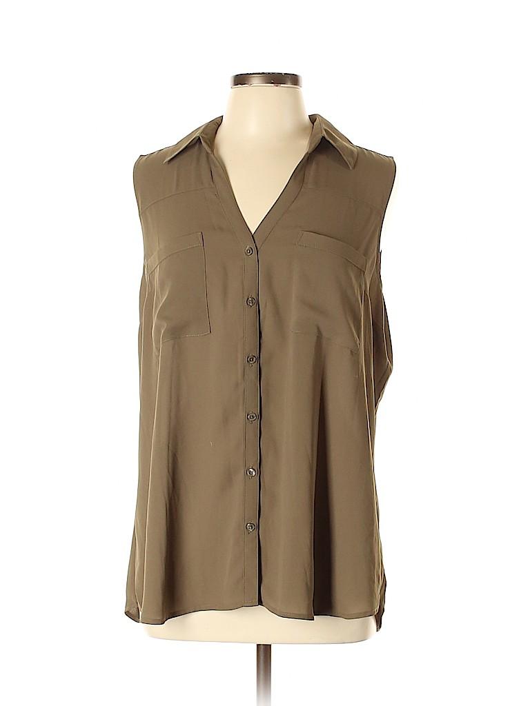 Express Women Sleeveless Blouse Size XL
