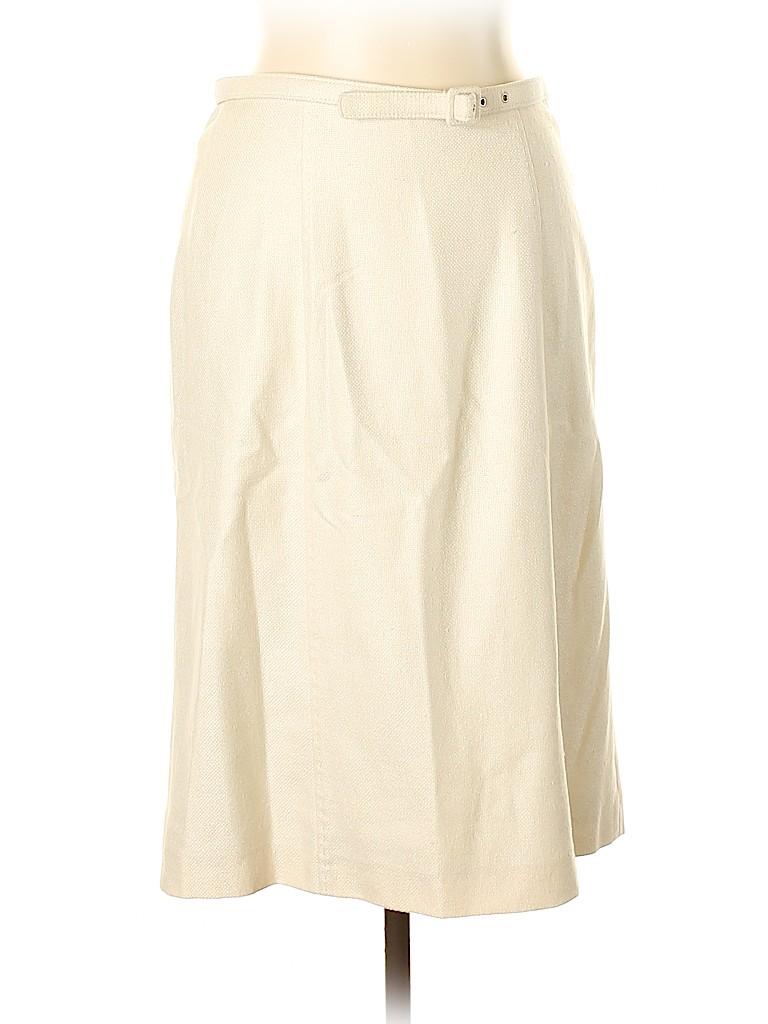 Loro Piana Women Silk Skirt Size 46 (IT)