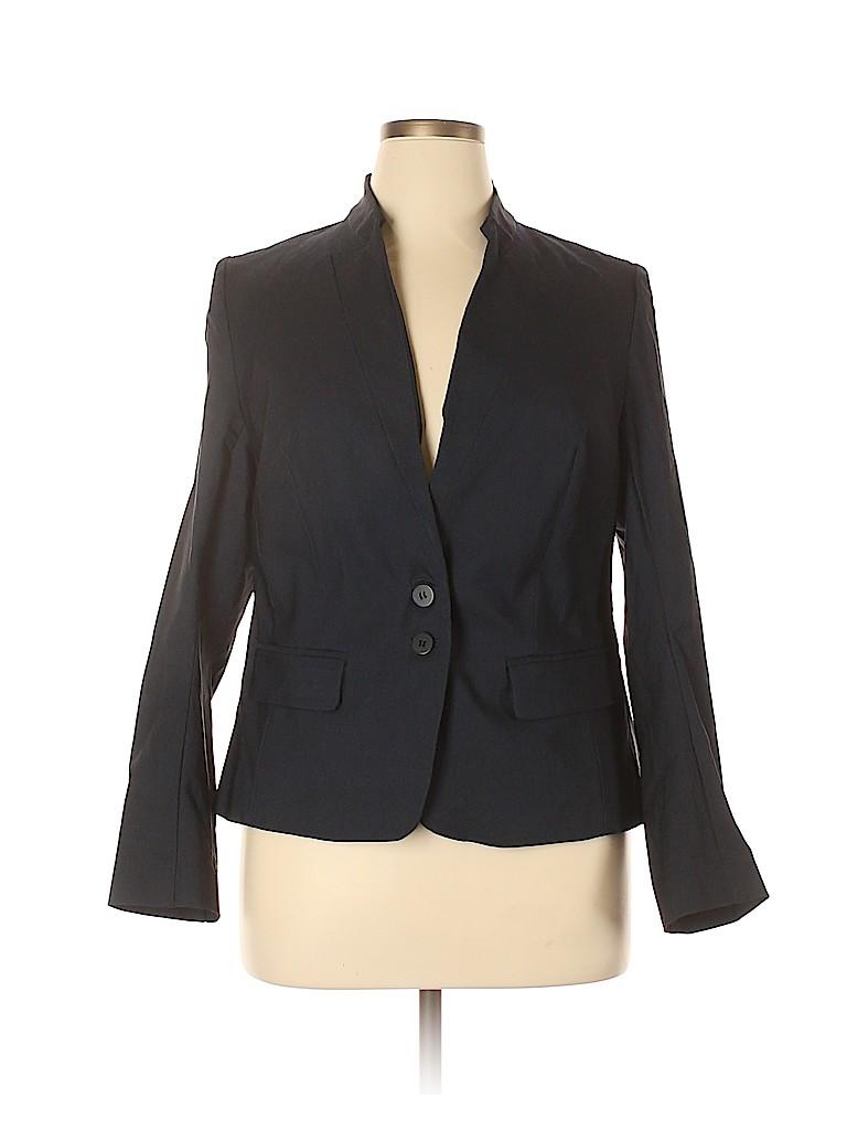 Lane Bryant Women Blazer Size 14 (Plus)