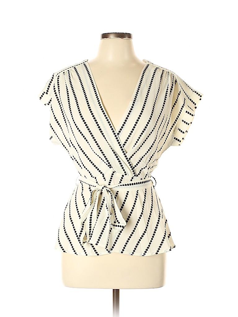 Monteau Women Short Sleeve Blouse Size XL