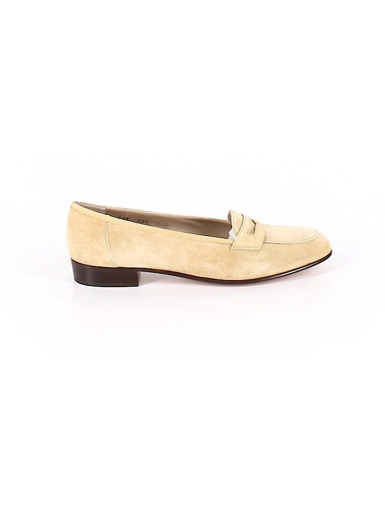 Salvatore Ferragamo Women Flats Size 7 1/2