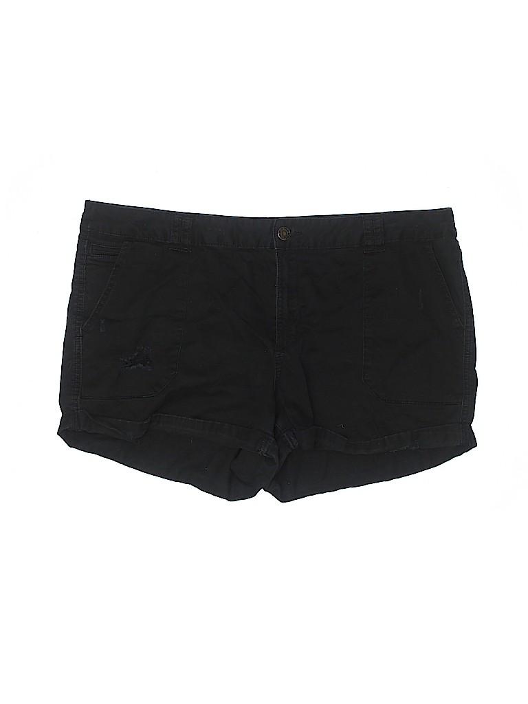 Mossimo Supply Co. Women Khaki Shorts Size 14