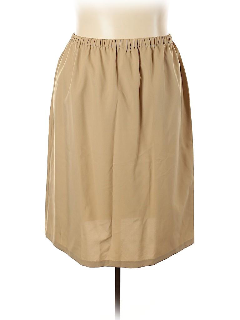 Roaman's Women Casual Skirt Size 34 (Plus)
