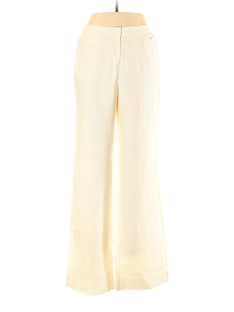 J.jill Women Linen Pants Size 12 (Tall)