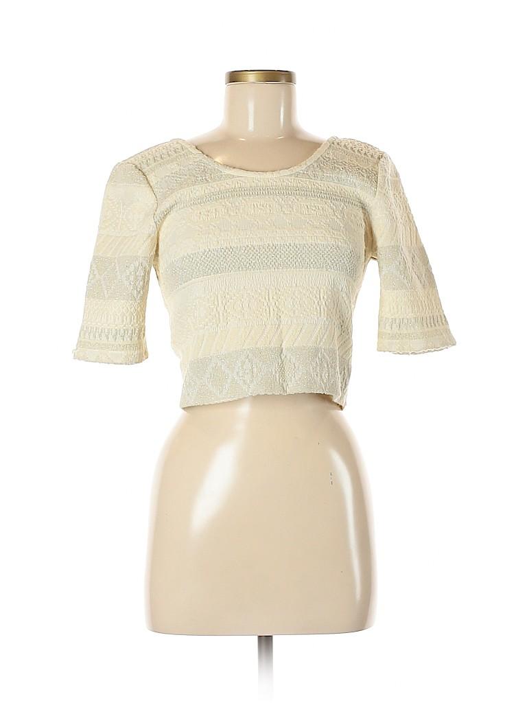 Rebecca Minkoff Women Short Sleeve Top Size S