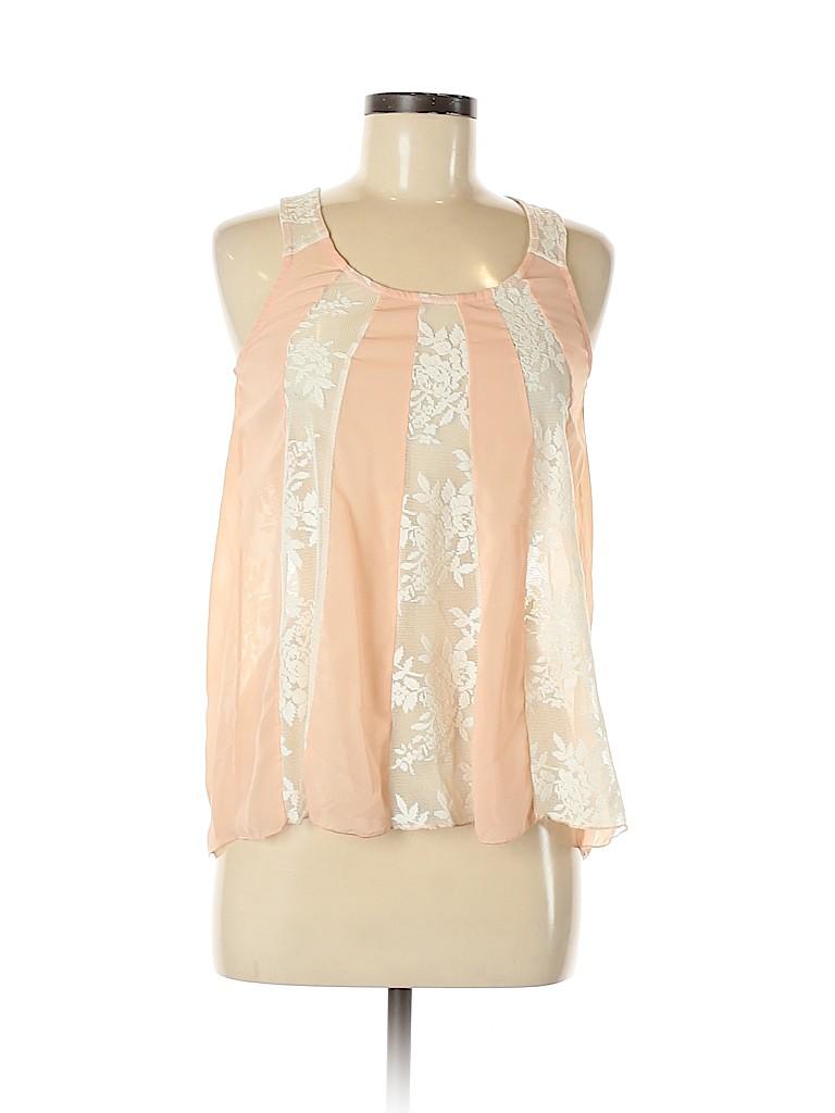 Mimi Chica Women Sleeveless Blouse Size S