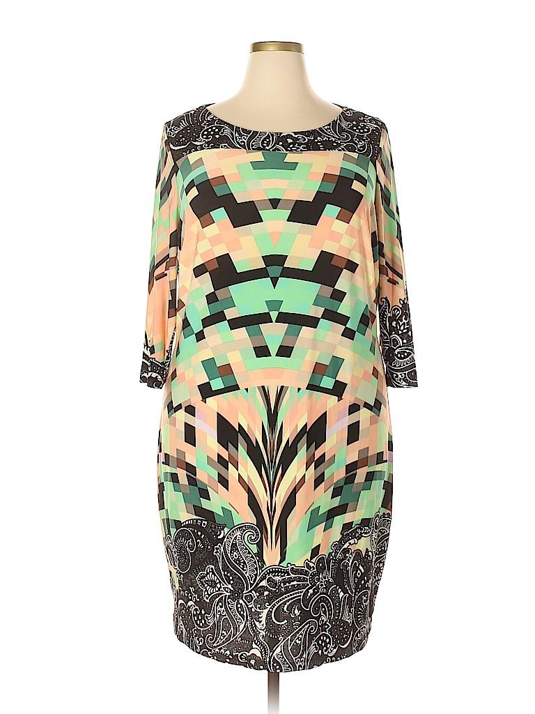 ELOQUII Women Casual Dress Size 20 W (Plus)