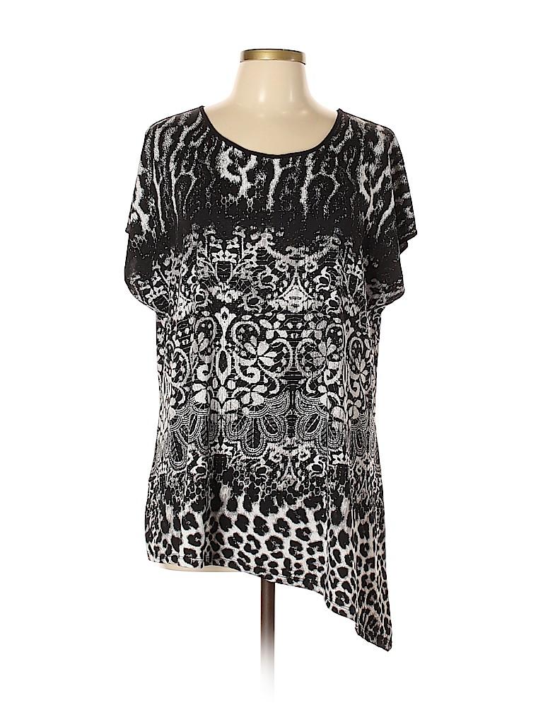 Cato Women Short Sleeve Top Size XL