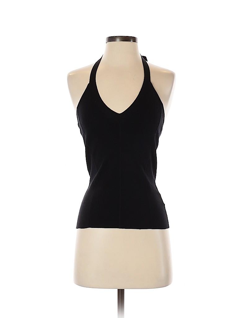 Club Monaco Women Sleeveless Silk Top Size S
