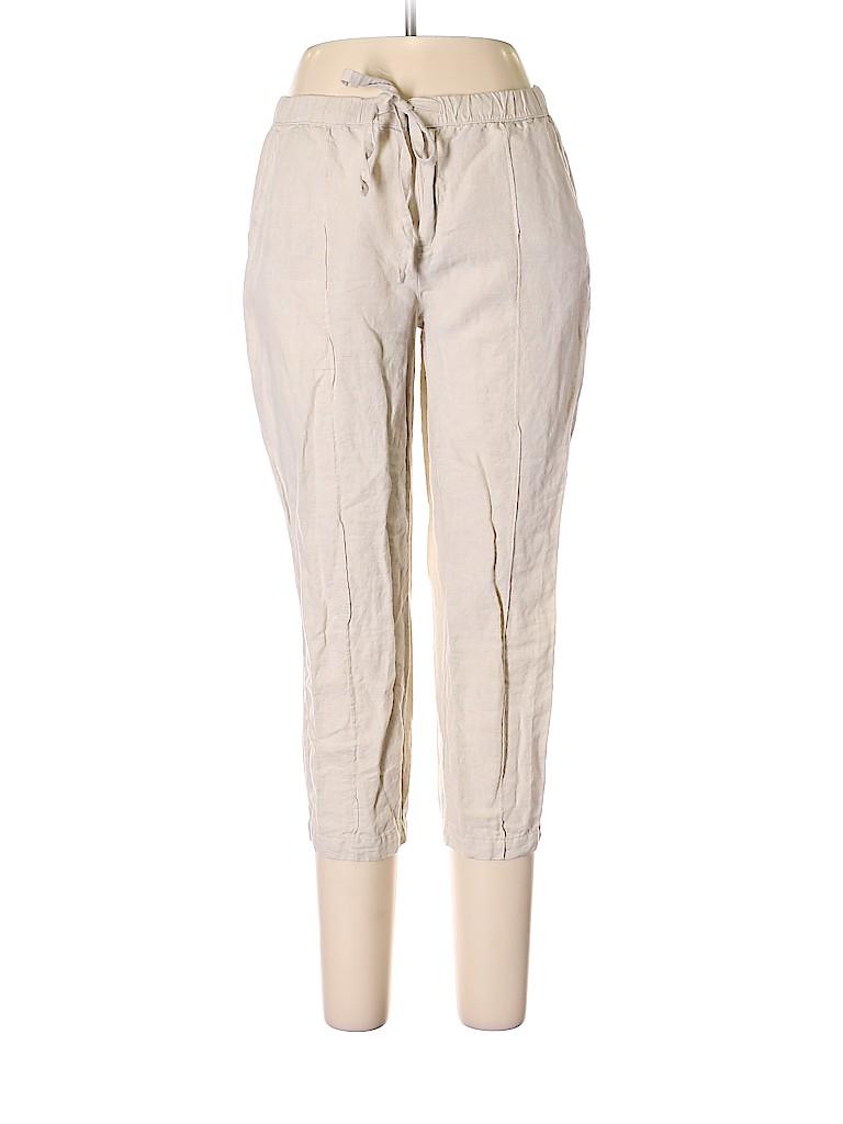 Liz Claiborne Women Linen Pants Size M (Petite)