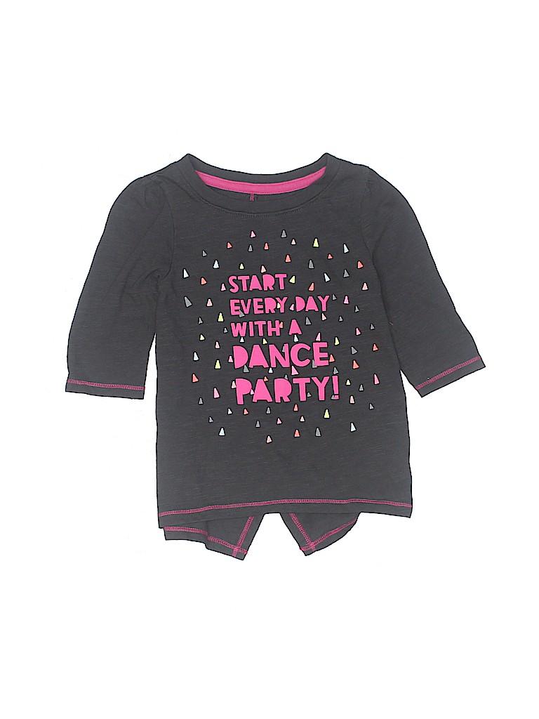 Cat & Jack Girls 3/4 Sleeve T-Shirt Size 2T