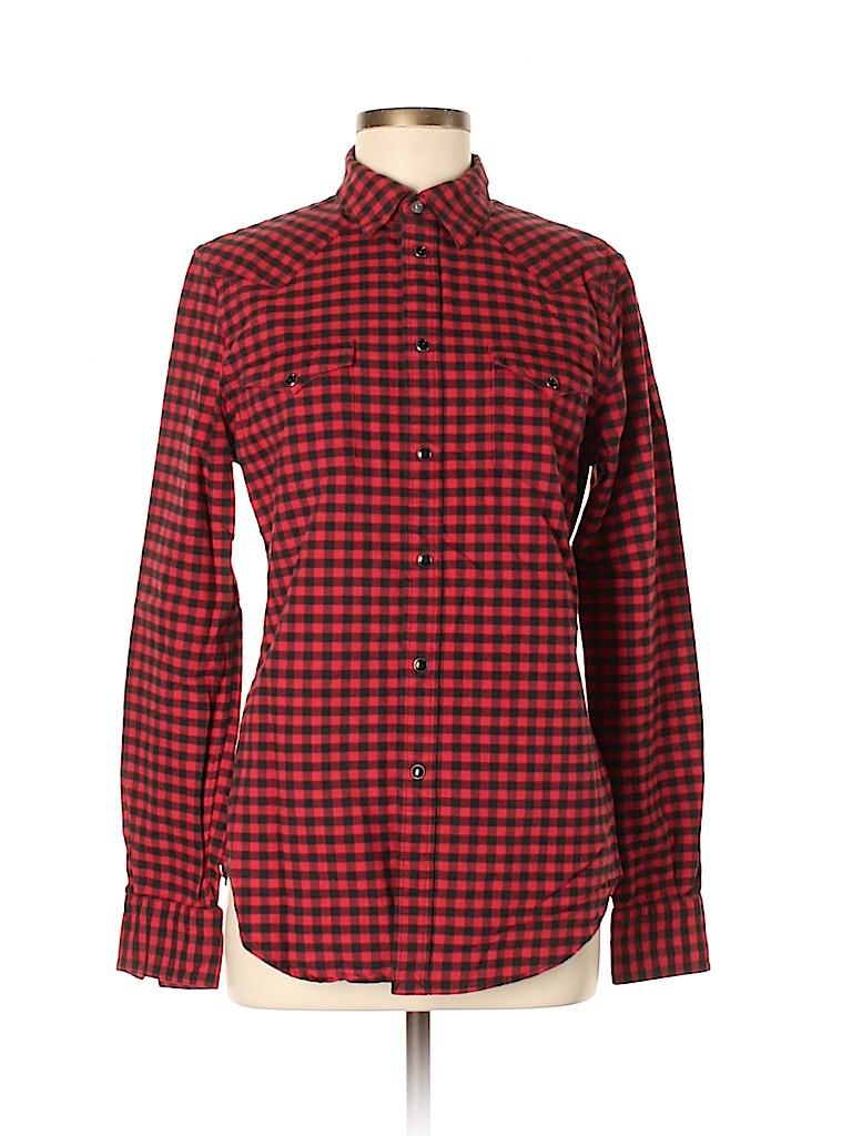 Polo by Ralph Lauren Women Long Sleeve Button-Down Shirt Size M