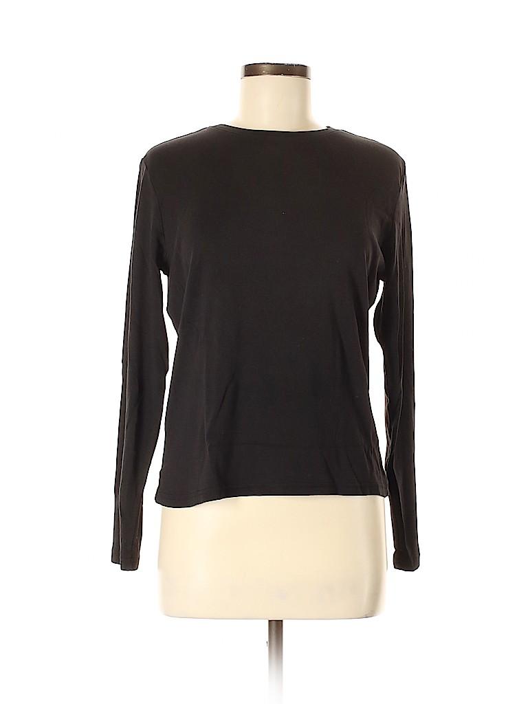 Cherokee Women Long Sleeve T-Shirt Size M