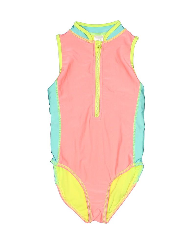 Cat & Jack Girls One Piece Swimsuit Size 6 - 6X
