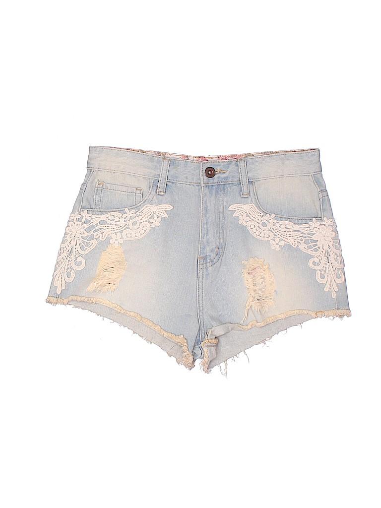 Forever 21 Women Denim Shorts Size 26 (Plus)