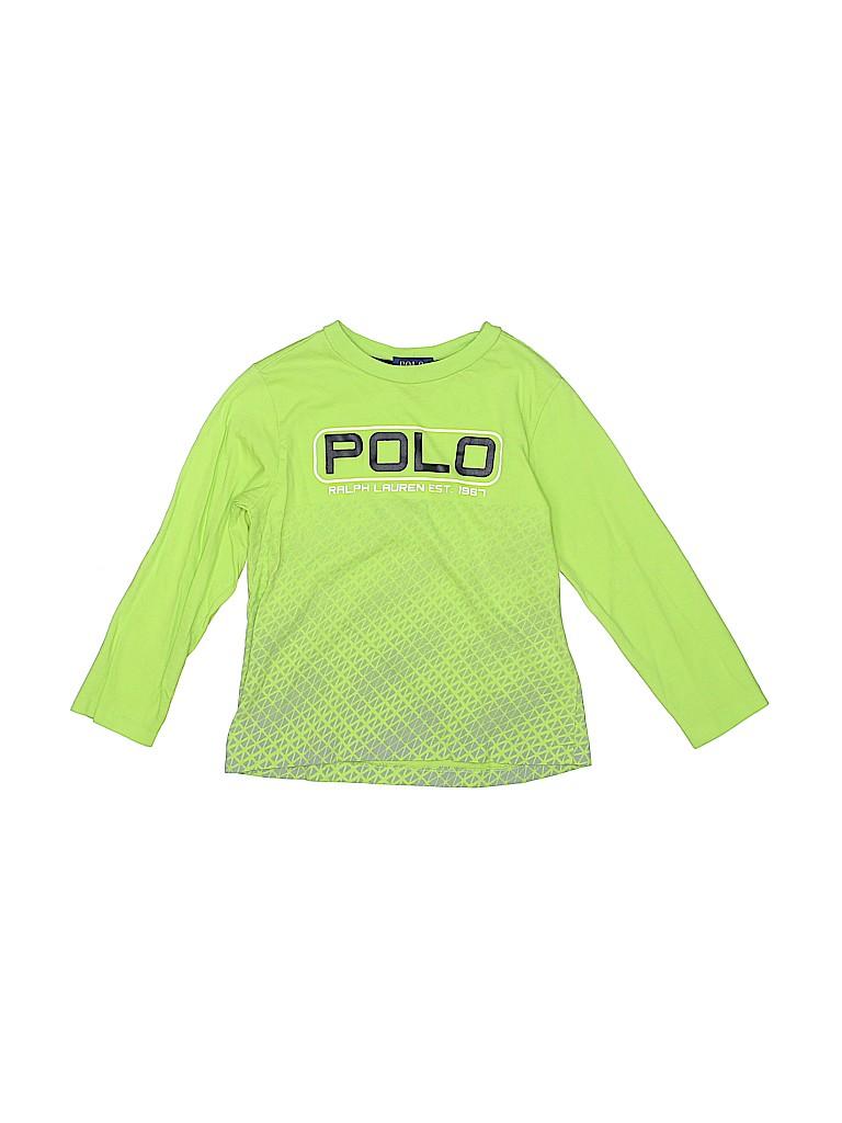 Polo by Ralph Lauren Boys Long Sleeve T-Shirt Size 4T