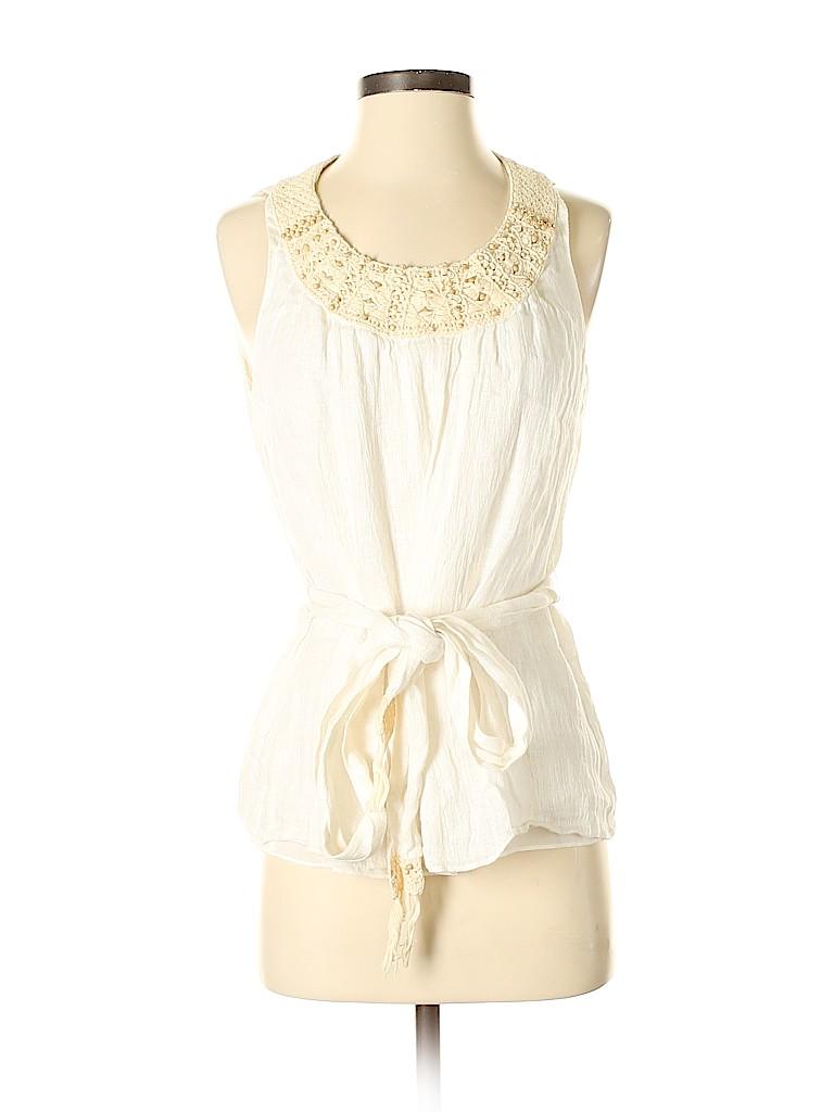 Lafayette 148 New York Women Sleeveless Blouse Size 4