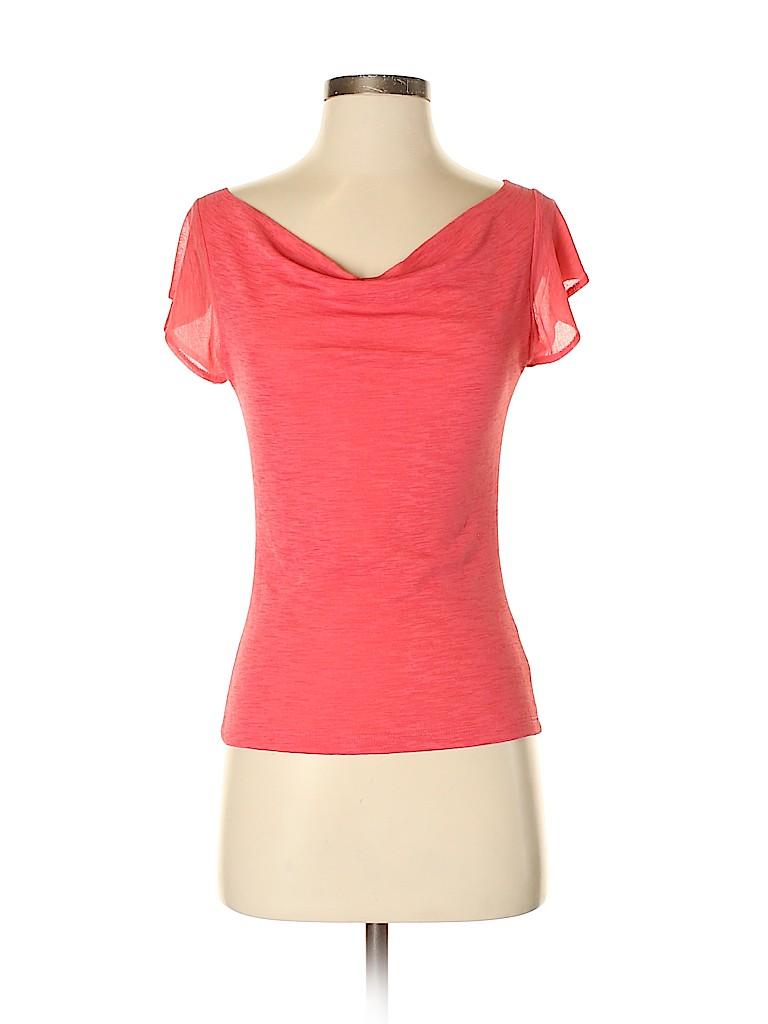 Arden B. Women Short Sleeve Top Size S