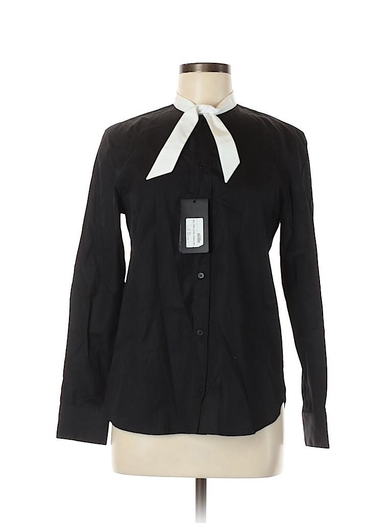 Saint Laurent Women Long Sleeve Button-Down Shirt Size 40 (FR)