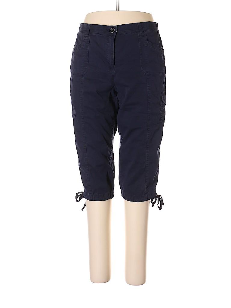 Karen Scott Women Cargo Pants Size 16 (Petite)