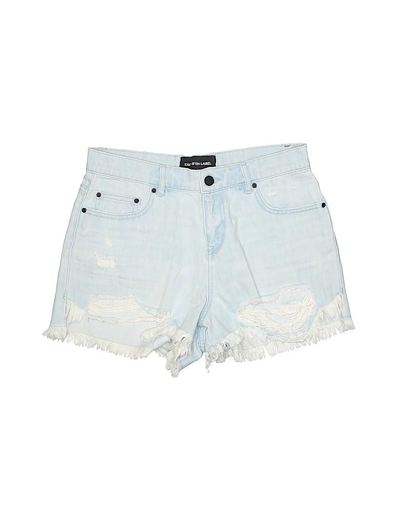 The Fifth Label Women Denim Shorts 26 Waist