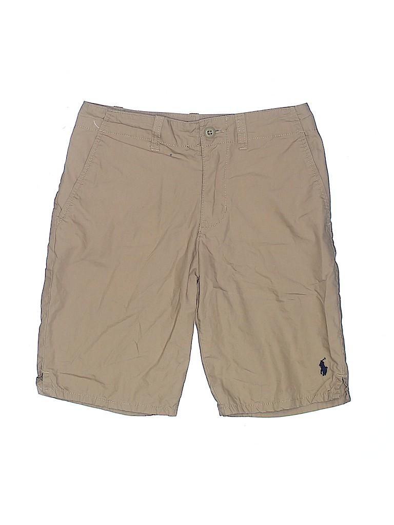 Polo by Ralph Lauren Boys Khaki Shorts Size 8