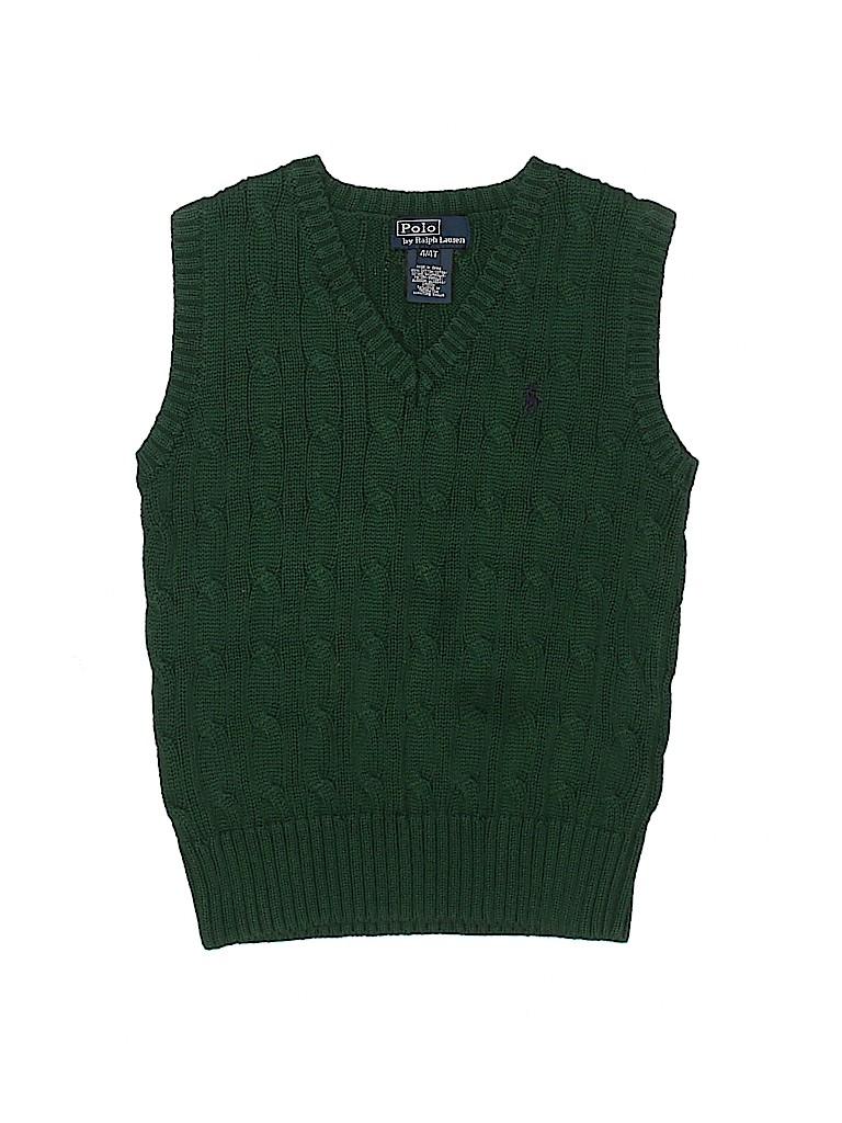 Polo by Ralph Lauren Boys Sweater Vest Size 4T