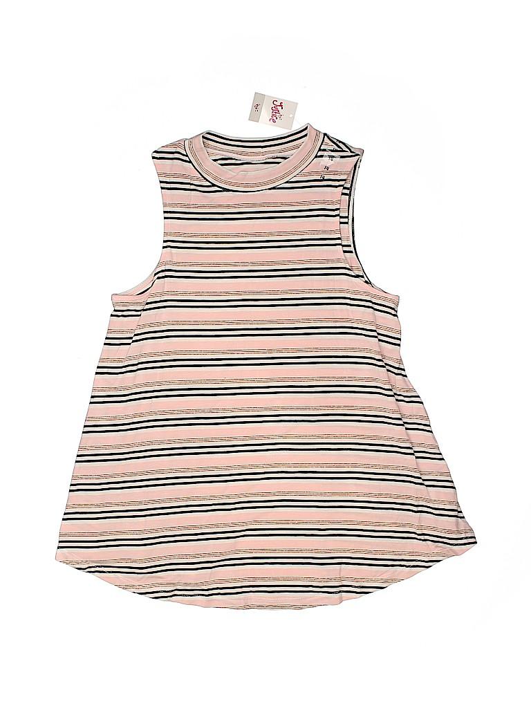 Justice Girls Sleeveless T-Shirt Size 14