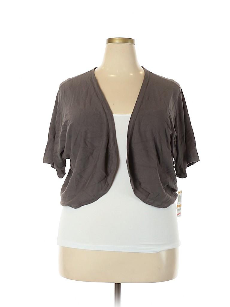 INC International Concepts Women Cardigan Size 3X (Plus)