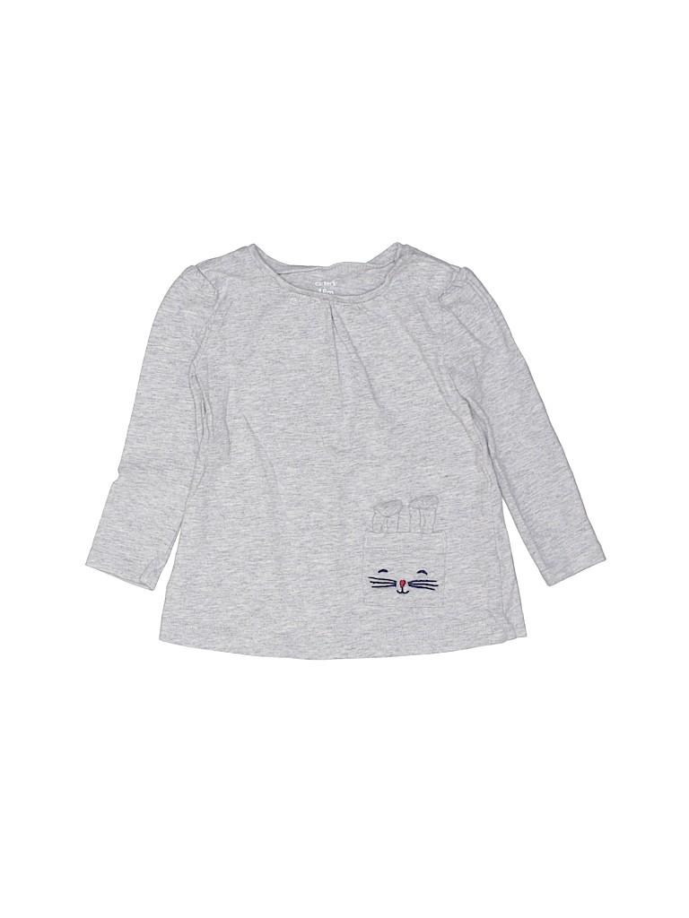 Carter's Girls Long Sleeve T-Shirt Size 18 mo