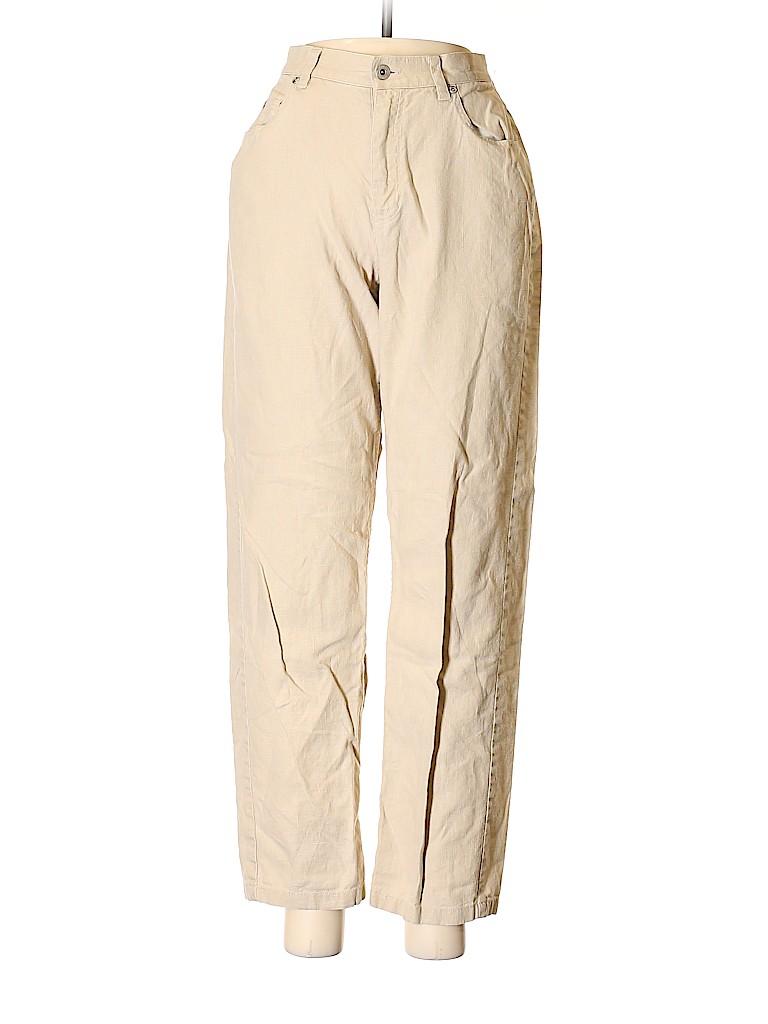 Liz Claiborne Women Linen Pants Size 8 (Petite)