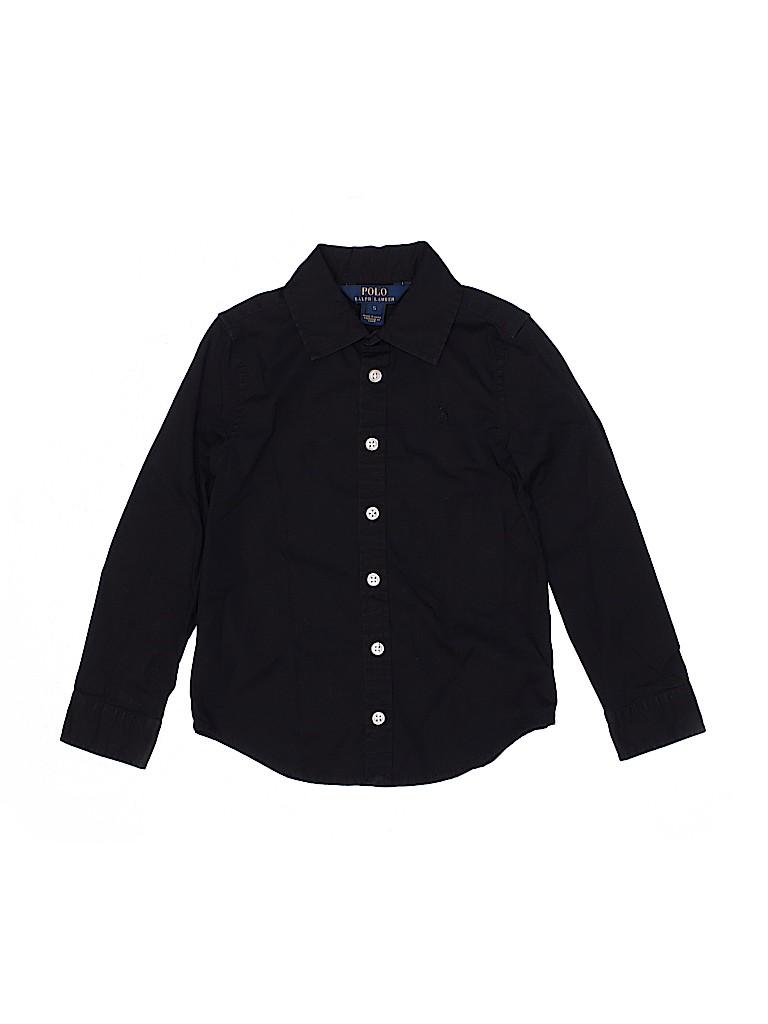 Polo by Ralph Lauren Boys Long Sleeve Button-Down Shirt Size 5