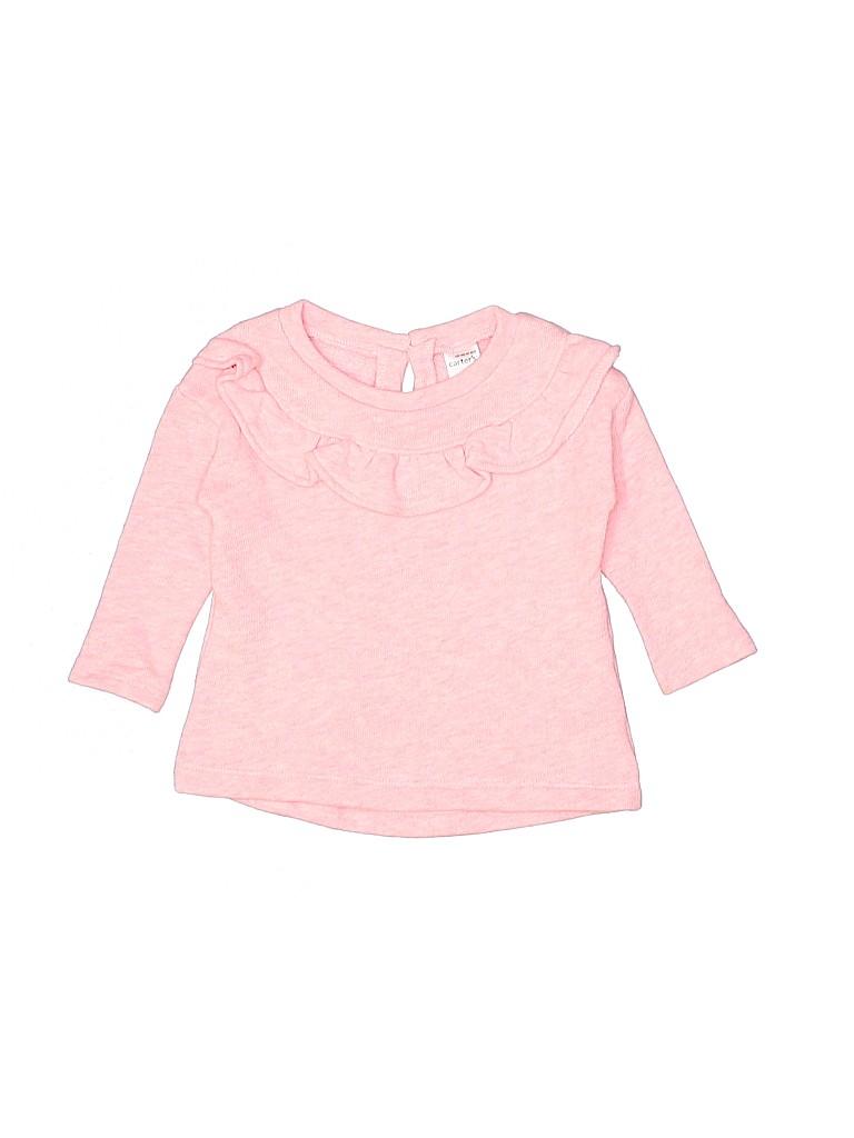 Carter's Girls Sweatshirt Size 9 mo