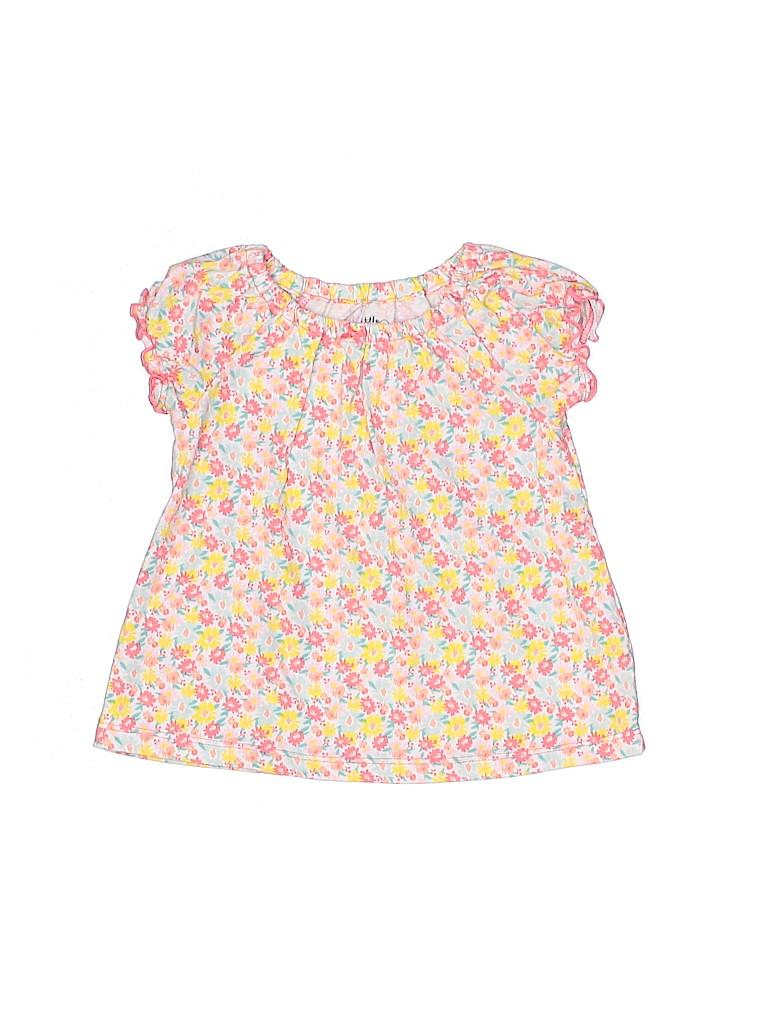 Carter's Girls Short Sleeve Top Size 12 mo