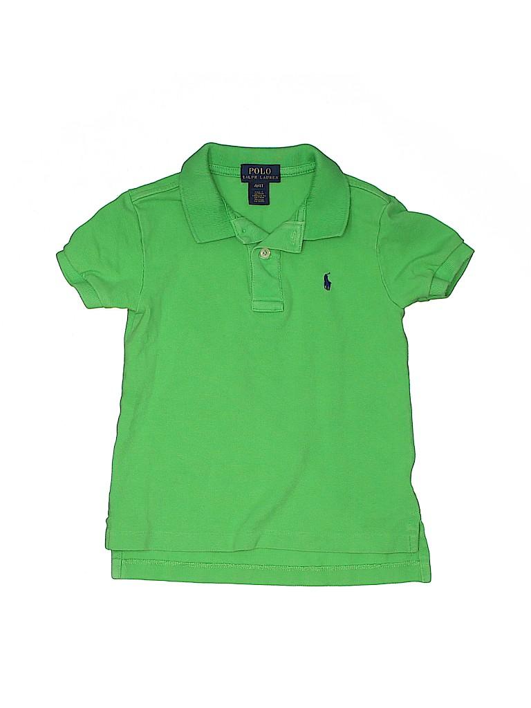 Polo by Ralph Lauren Boys Short Sleeve Polo Size 4