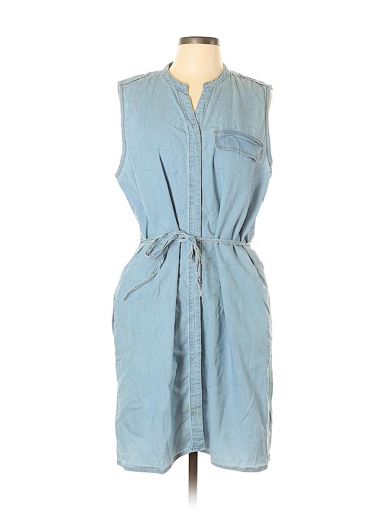 Calvin Klein Women Casual Dress Size XL