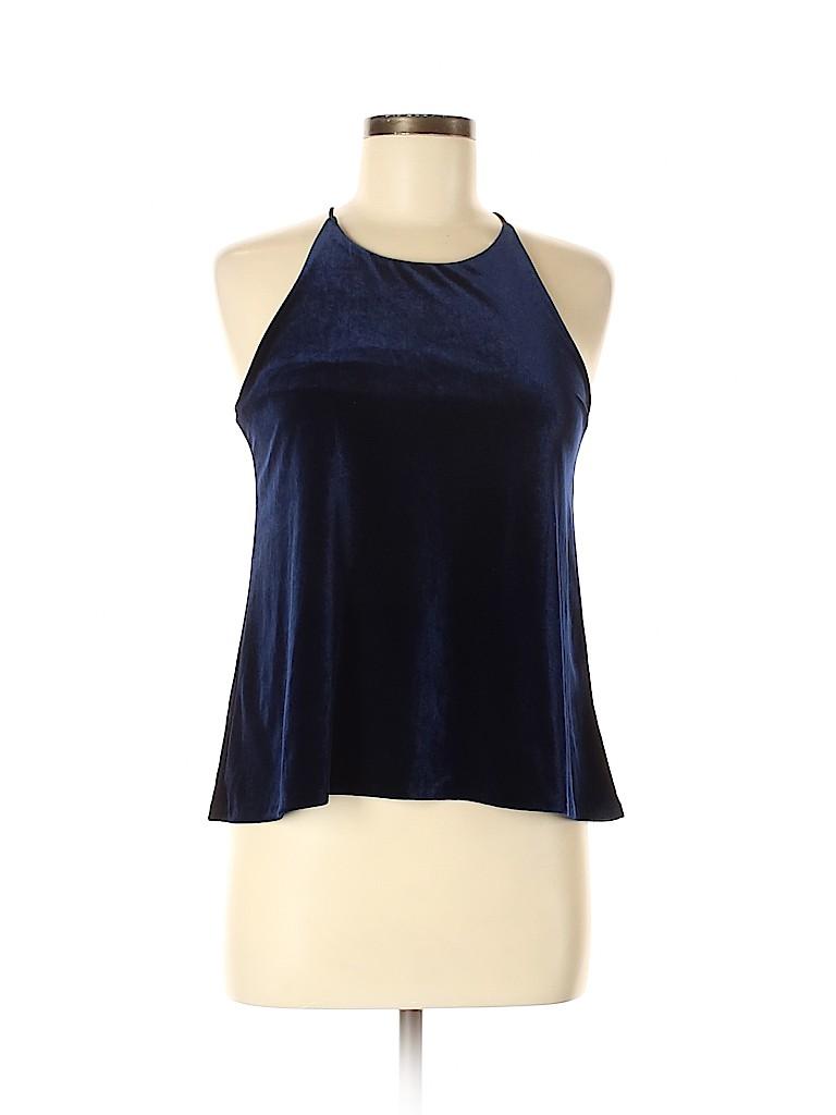 Aqua Women Sleeveless Blouse Size M