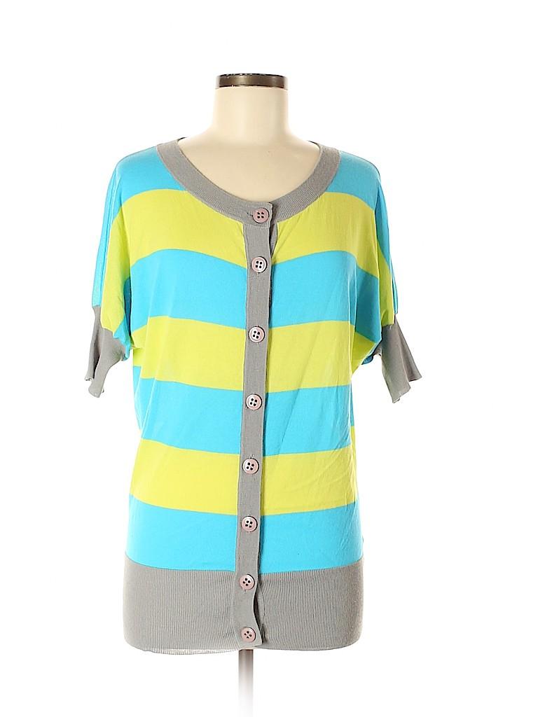 Trina Turk Women Cardigan Size M