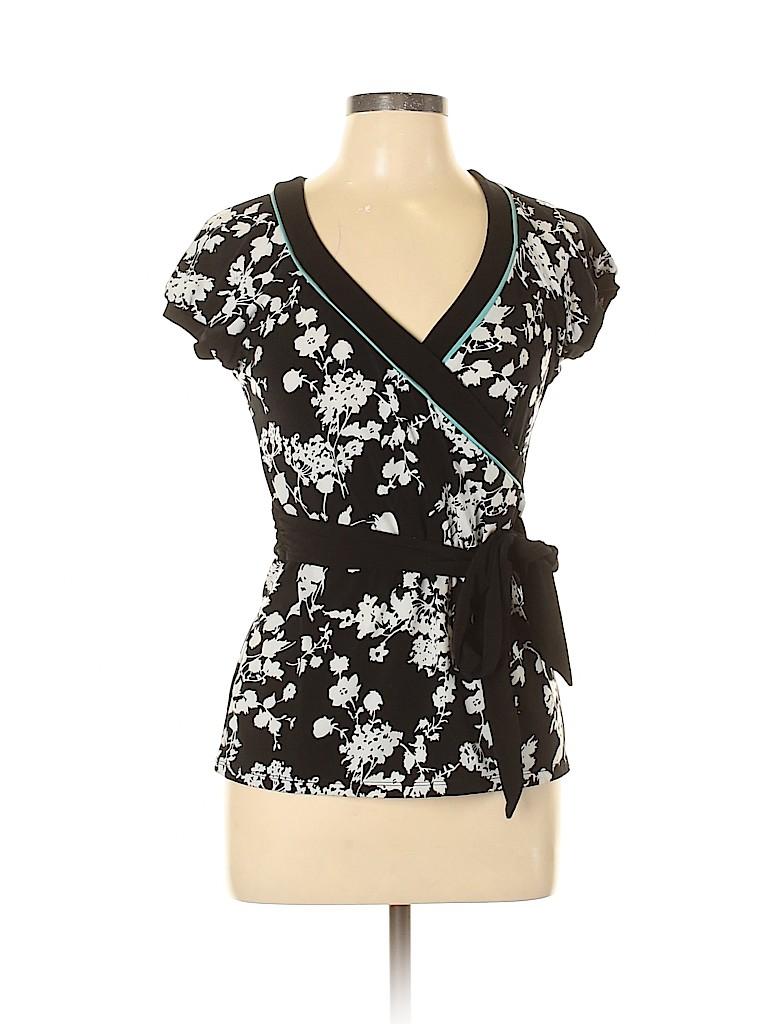 Ann Taylor LOFT Women Short Sleeve Top Size M