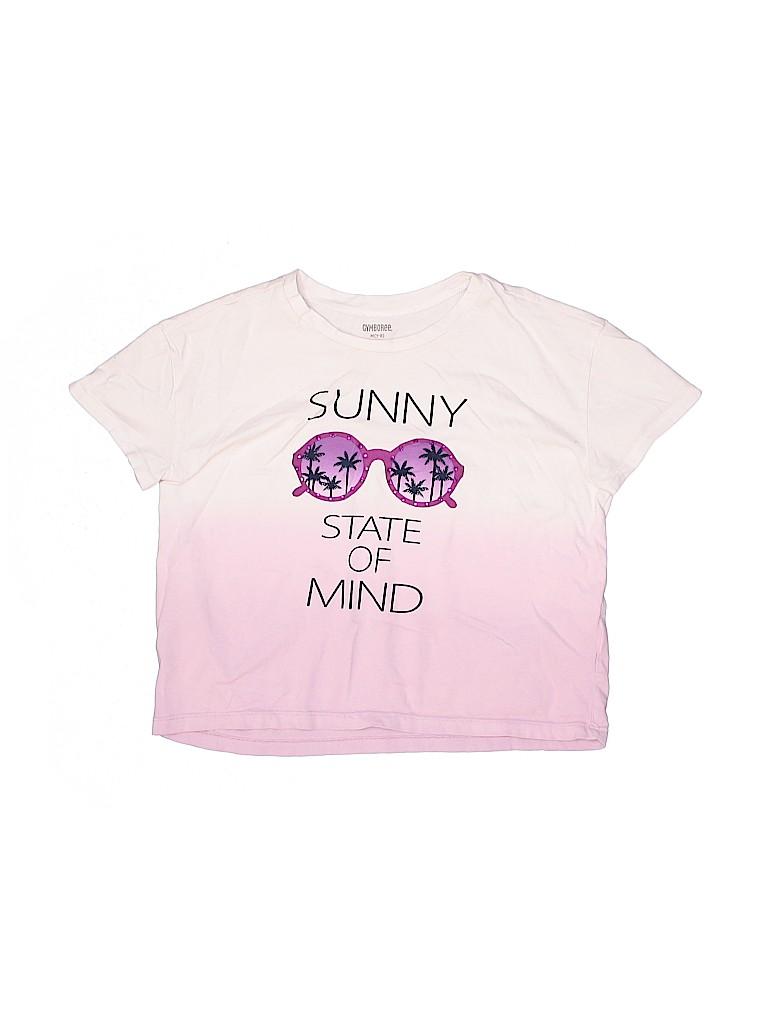 Gymboree Girls Short Sleeve T-Shirt Size M (Kids)