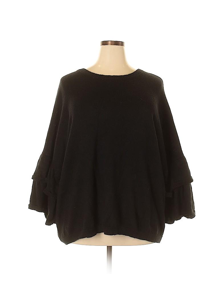 ELOQUII Women Pullover Sweater Size 26 - 28 Plus (Plus)