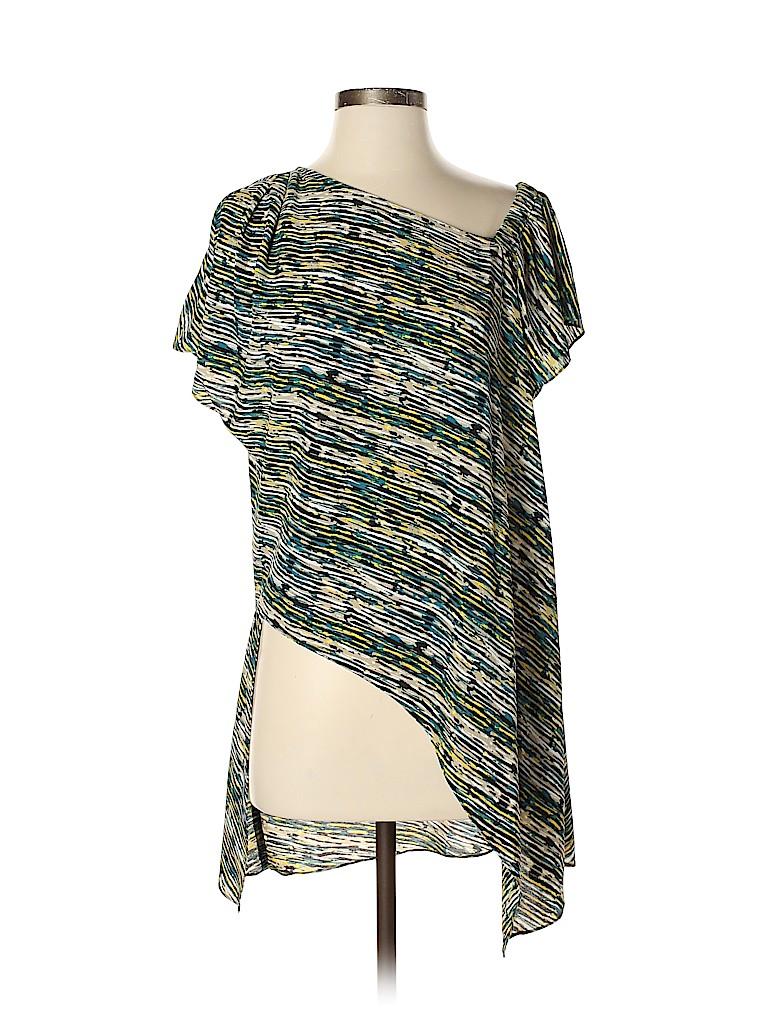 H By Halston Women Short Sleeve Blouse Size XS