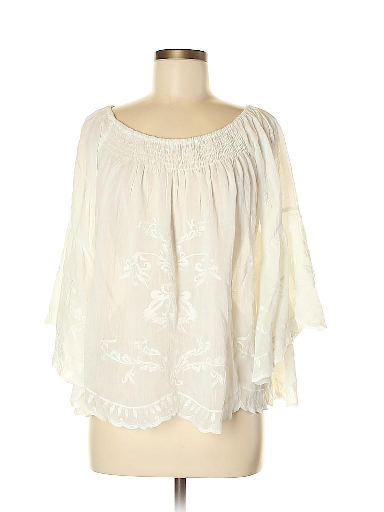 Neiman Marcus Women 3/4 Sleeve Blouse Size M
