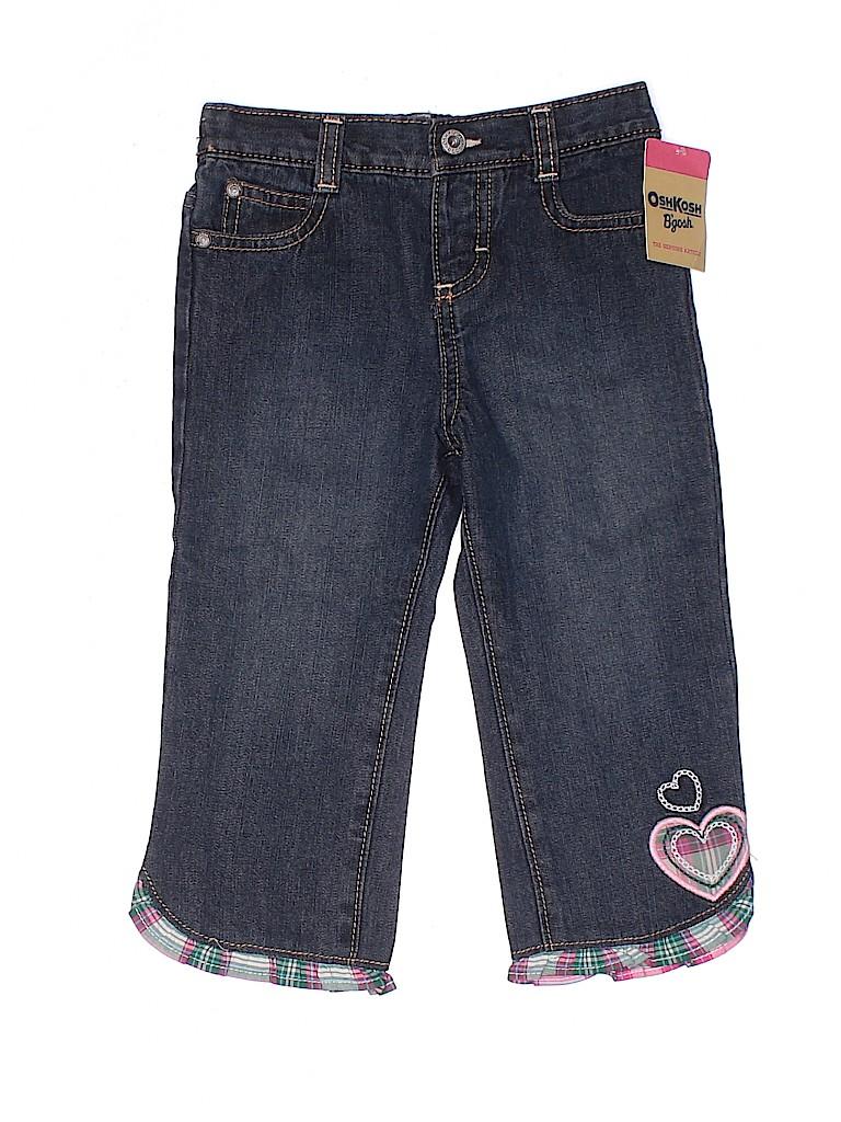 OshKosh B'gosh Girls Jeans Size 24 mo