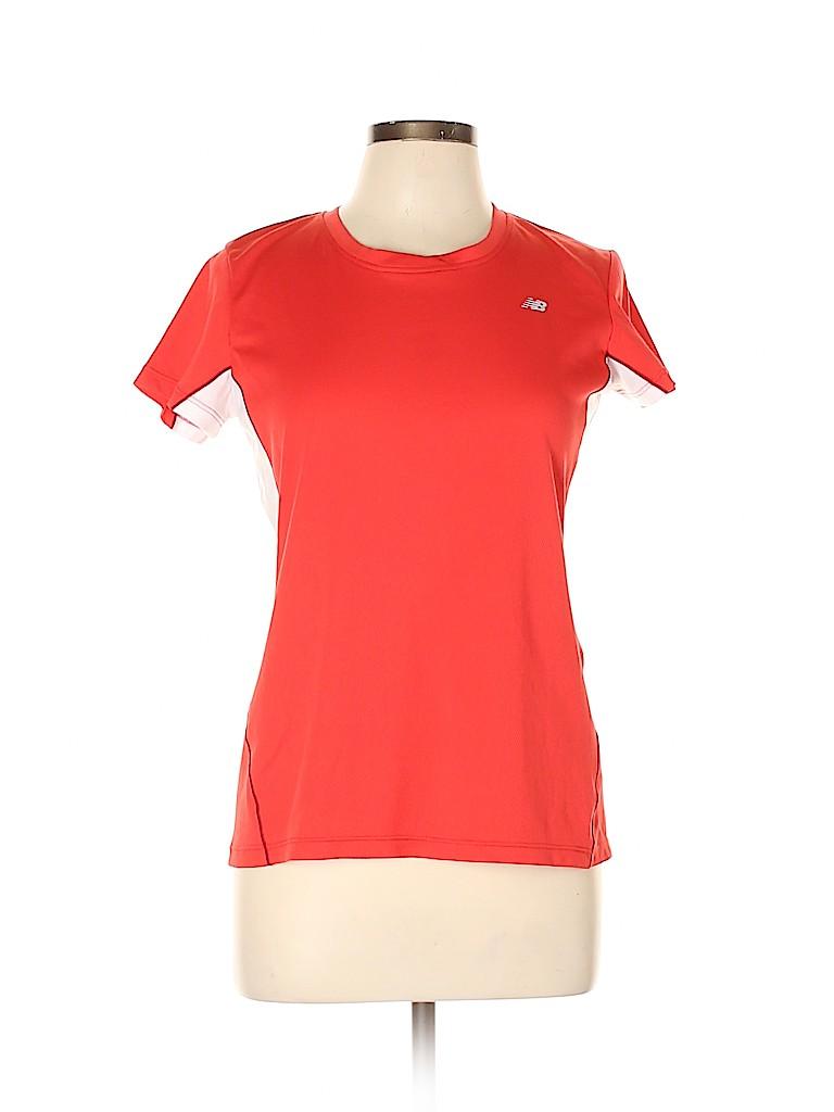 New Balance Women Active T-Shirt Size L