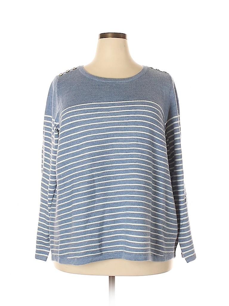 Croft & Barrow Women Pullover Sweater Size 2X (Plus)
