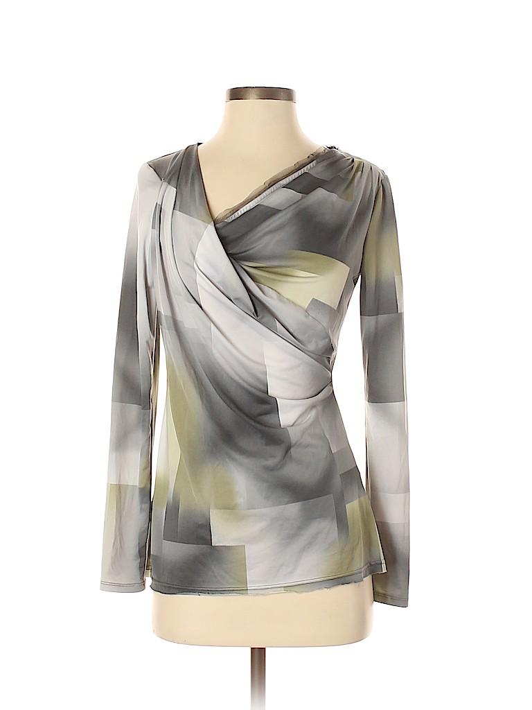 Simply Vera Vera Wang Women Long Sleeve Top Size XS