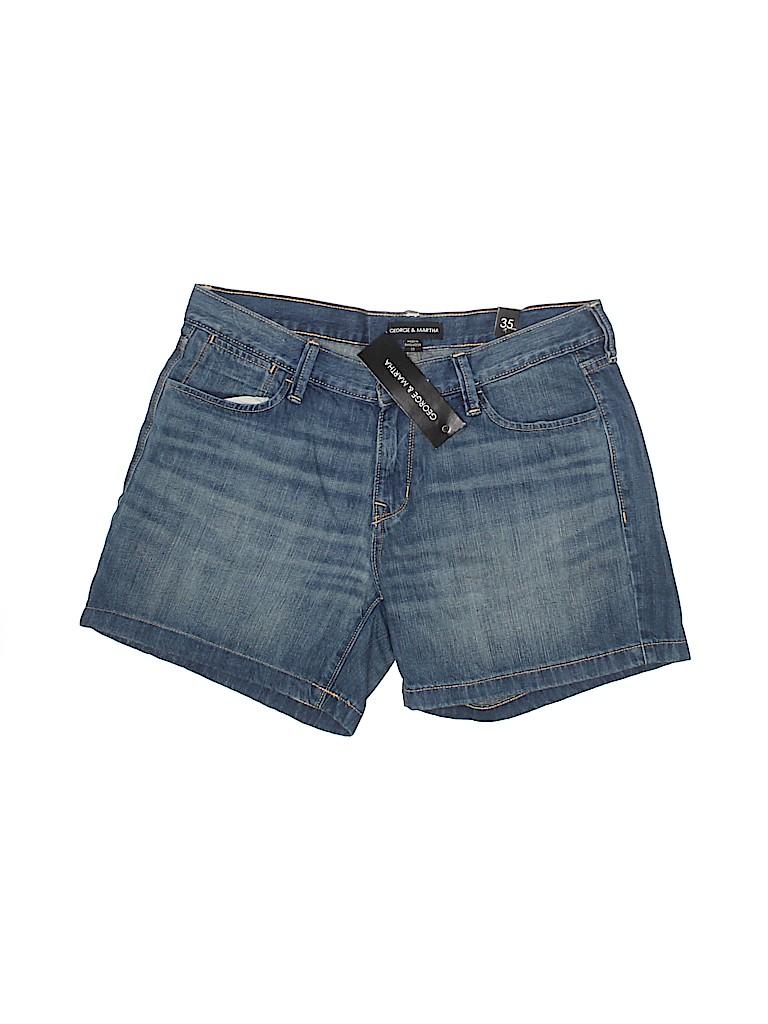 George & Martha Women Denim Shorts Size 35